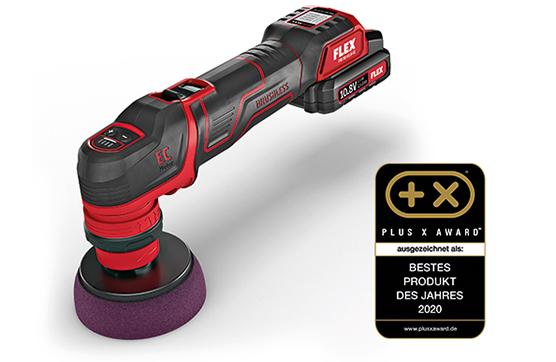 Plus X Ödülü: Kablosuz polisaj makinesi PXE 80 10.8-EC, yılın en iyi ürünü ödülünü kazandı